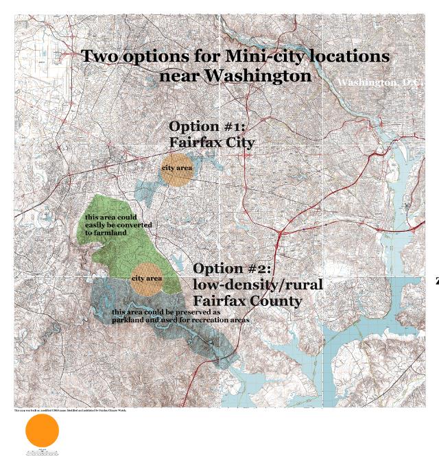 mini-city options near Washington D.C.
