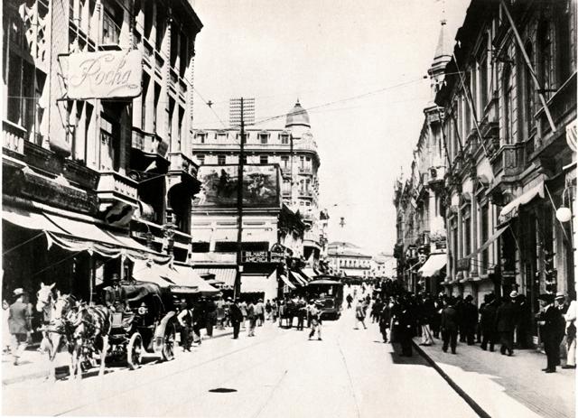 Sao Paulo 1914 street view